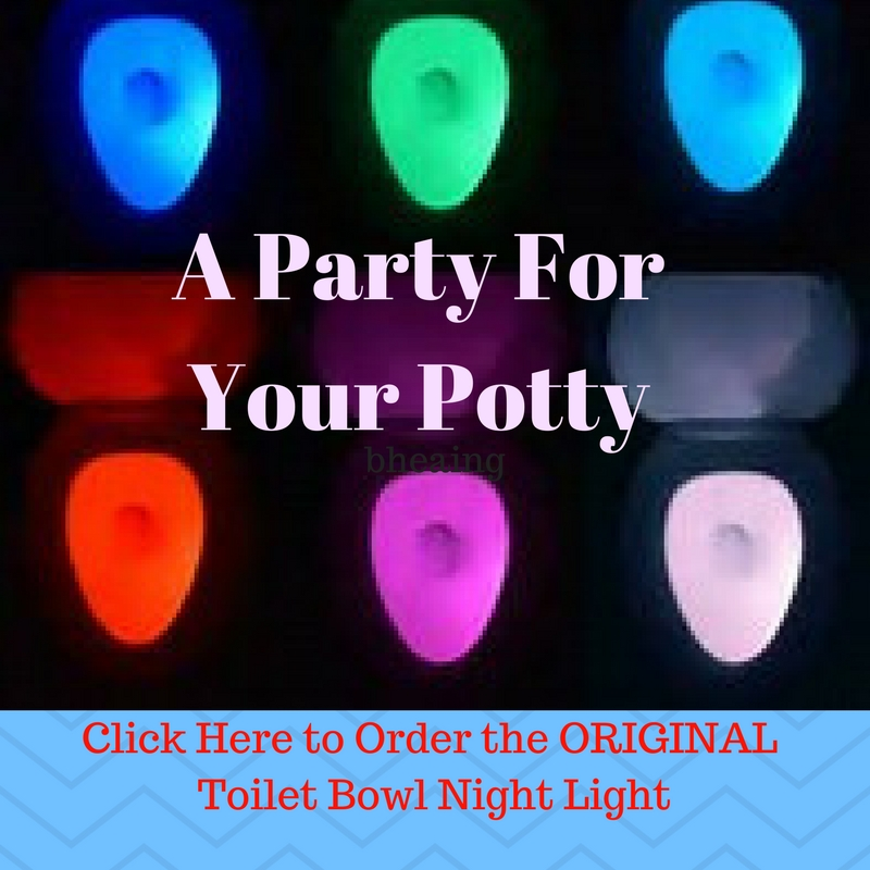 Terry Ryan Original Toilet Bowl Night Light