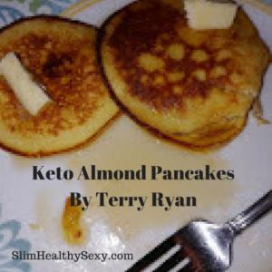 Keto Almond Pancakes - Slim Healthy Sexy
